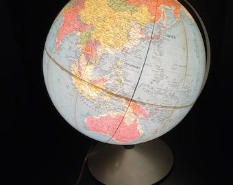 Lighted Replogle 12 Inch Library Globe