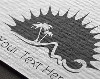 Sun, sunshine, sun logo, waves, beach logo