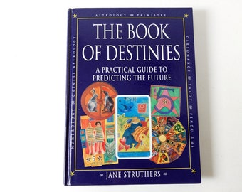 Book of Destinies by Jane Struthers, Tarot Basics Major Minor Arcana 1997, Astrology, Palmistry, Numerology, goth devination metaphysical