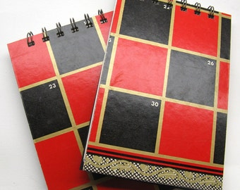 Checker board notepad - large