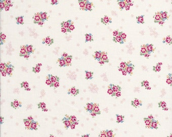 Yuwa-Sunday 9-Vintage Floral-Reproduction Fabric  SD119524 A