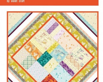 The Boho Quilt Pattern by Violet Craft