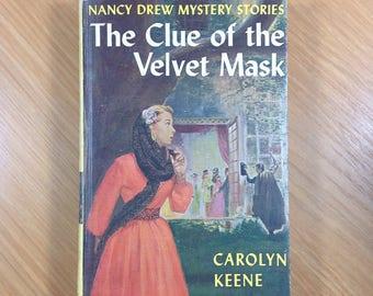 The Clue of the Velvet Mask 1961 Nancy Drew