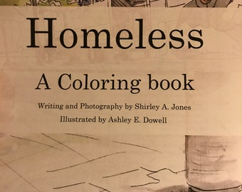 Coloring Book of Homeless People