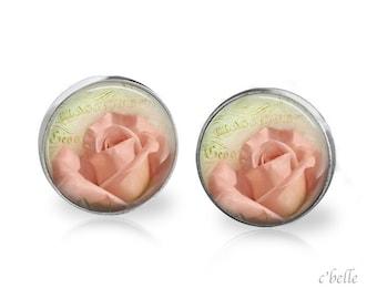 Ear studs of pastellener cherry blossom 13