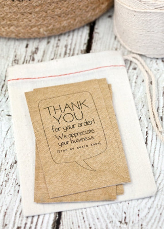 thank you cards thanks for your order business cards shop