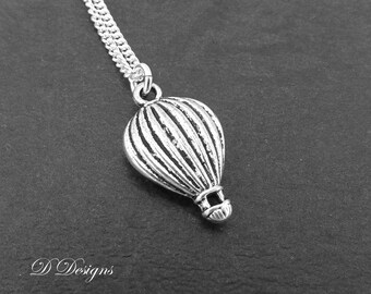 Hot Air Balloon Necklace, Air Balloon Necklace, Travellers Necklace, Travellers Jewellery, Travel Necklace, Travel Gifts