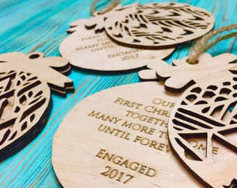 Rustic Home Decor,Gift For Her 2016,Christmas Ornament,Christmas Present,5Th Anniversary Gift,Gift For Dad,Jesse Tree Ornaments,Christmas Tr