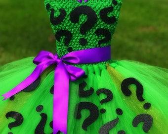 Adult Riddler Tutu Dress