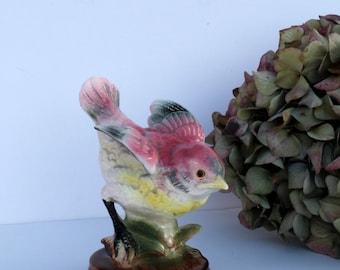 1950s Glossy Bird Porcelain Figurine