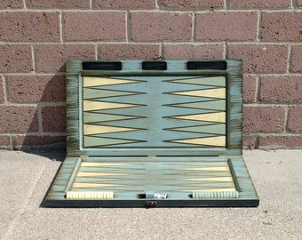 Painted Backgammon Board