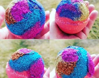 Peachy Pink Bath Bombs. Bath Bombs. Bath Bomb. Bath Salt. Glitter Bath Bombs. Gifts for Her. Gifts for Mom. Anniversary Gifts. Easter Gifts.