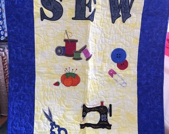 Sewing Room Wall Hanging