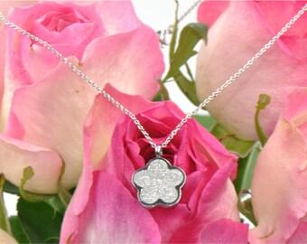 Five Leaf  Clover  Necklace
