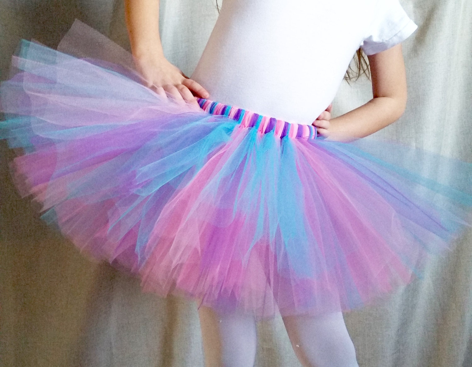 Pink Blue Purple Tutu For Babies Toddlers And Girls