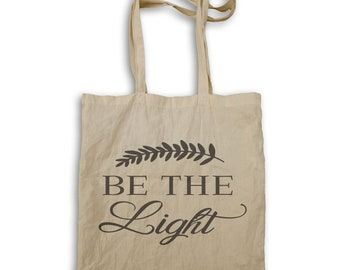 Be the light t Tote bag v968r