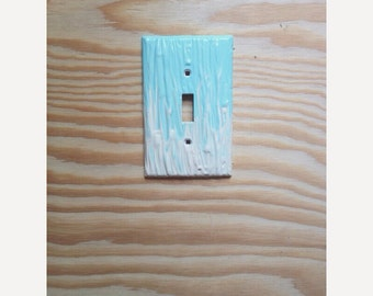 Mint light switch cover