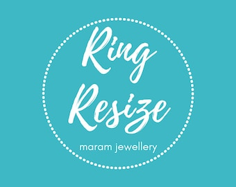 Ring Resize Service - Only for Rings purchased from maramjewellery