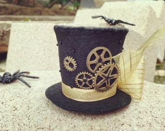 Steam Punk Mini Hat Time Traveler