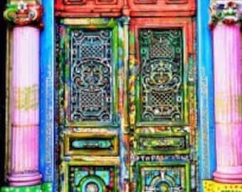 Colourful Door