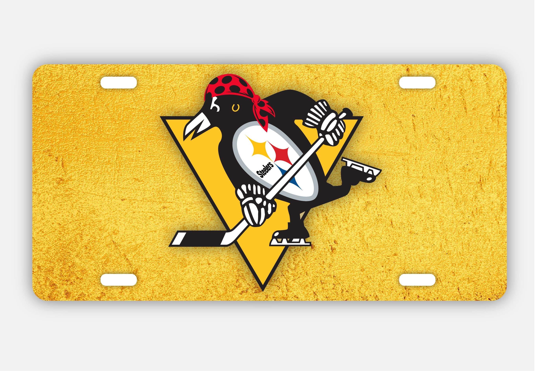 Pittsburgh Sports Teams Art Steelers Pirates Penguins Fan