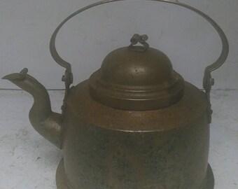 copper tea pot or kettle