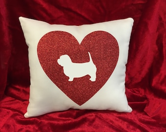 Glen of Imaal Terrier throw pillow.  Great gift for the Glen of Imaal dog lovers!