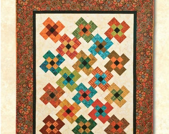 Bridge Creek Blossoms Quilt Pattern by Atkinson Designs