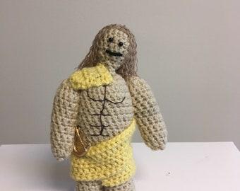 Crochet Apollo Doll Greek Mythology