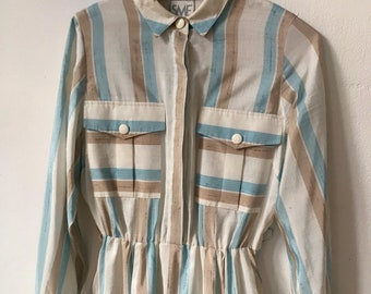 Vintage Stripe Dress