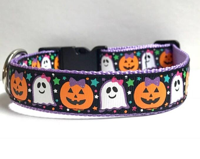 """1"""" Halloween Friends Collar"""