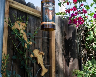 Pismo Brewing Company Bootlegger Blonde Ale Beer Bottle Wind Chime