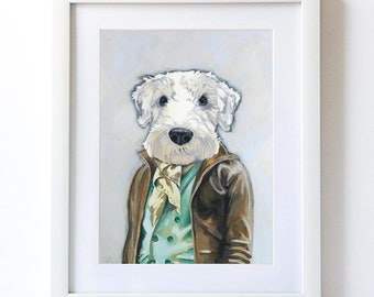 THEO - Matte Print - From Painting by Heather Mattoon