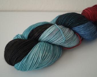 Stupid-head! on Strong Sock – Hand Dyed Yarn