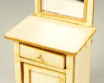 1:24 scale miniature dollhouse furniture kit Rhonda's vintage cabinet
