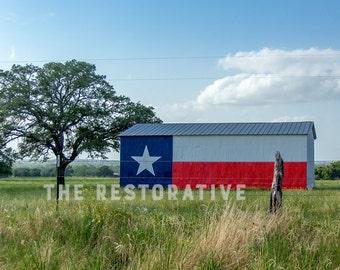 Texas Barn photograph
