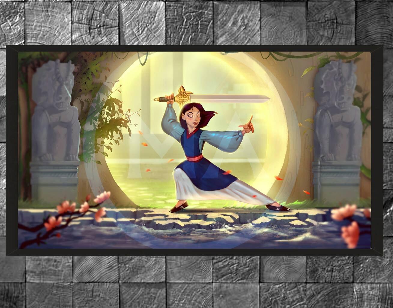 Mulan Disney Warrior Princess Original Digital Photo Wall