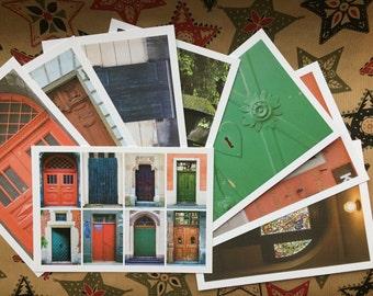 lot de 8 cartes postales