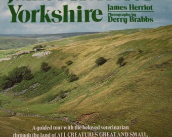 James Herriot's Yorkshire book in hardback