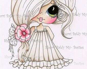 DESCARGA instantánea Digital Digi sellos ojo grande Big Head Dolls Digi mis Besties coloreado en parte IMG436 21 por Sherri Baldy