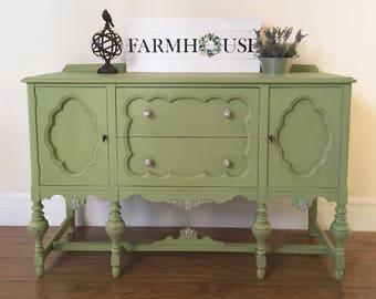 SOLD-Farmhouse Buffet Sideboard