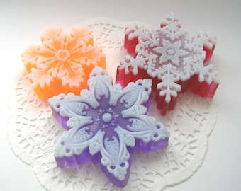 Snowflakes Molds New Year Snowflake Mold Christmas Snowflake Mold Snowflakes Stars Molds Silicone Snowflake Mold Simple Mold