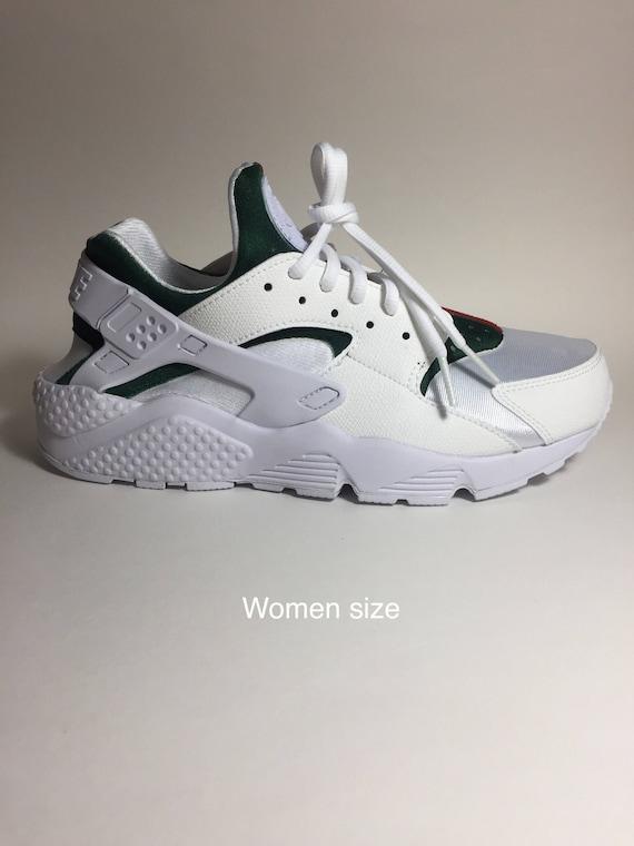 The ORIGINAL Custom Luxury Huarache, High End Inspired Nike Huarache Run  Triple White, Nike custom shoe, Nike huarache custom, nike shoes.
