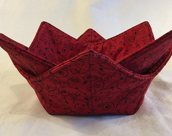 Microwave Bowl Cozy, microwave bowl holder, soup cozies, soup bowl hot pad, icecream bowl holder, cozy, hot or cold cozy