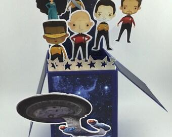 Star Trek 3D Pop Up Card
