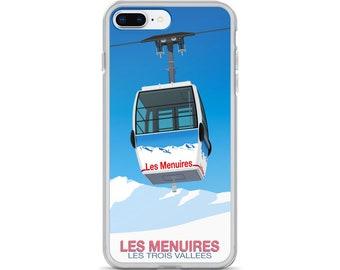 Les Menuires Ski Resort iPhone Case