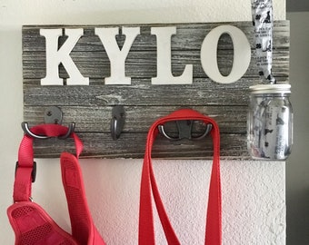 Personalized Leash Hangers