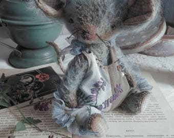 SOLD! Teddy mouse Pea