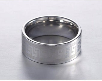 Mens Ring, Womens Ring, Stainless Steel Band, Wedding Ring, Mens jewellery, Wedding band, Silver band, Womens jewellery, Silver ring