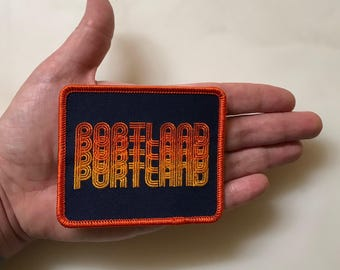 Seasons K Designs Portland Fade Embroidered Patch